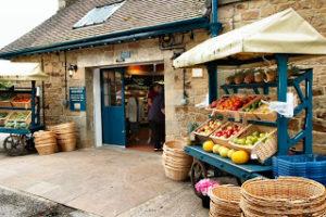 Chatsworth Farm Shop outside